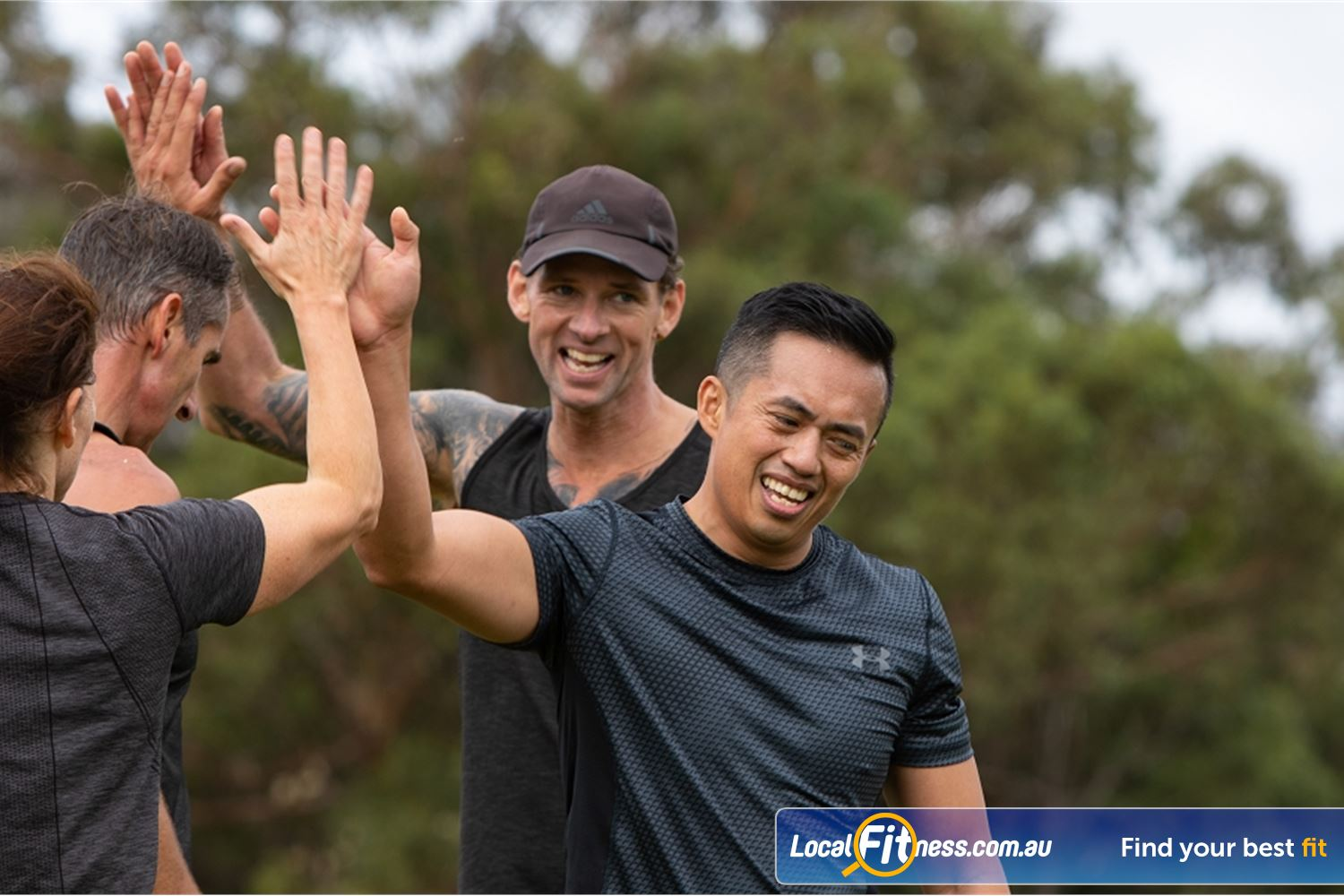 Step into Life Near Essendon North Join like minded people in our Essendon outdoor fitness community.