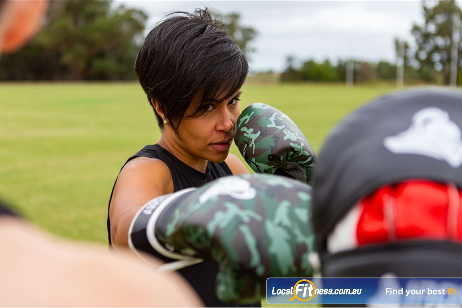 Step into Life Near Niddrie Our outdoor programs combine kicking, Essendon boxing, self-defense and more.