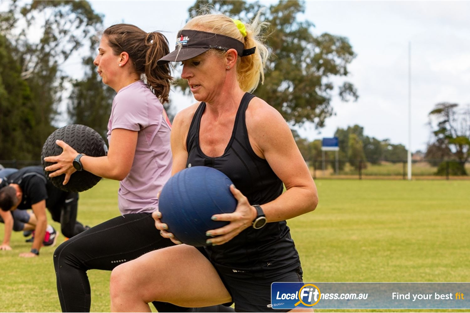 Step into Life Near Strathmore Increase your cardio and burn calories with our Essendon outdoor classes.