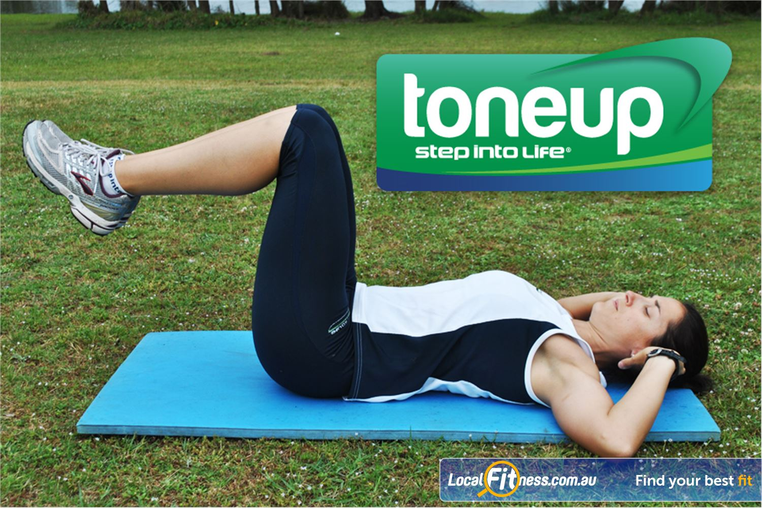 Step into Life Near Essendon North Strengthen and sculpt with Toneup at Step into Life Essendon.