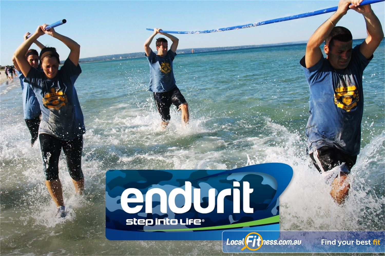Step into Life Essendon Endurit is based on a form of training used in the Marines, officially called Recruit Training.