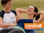 Step into Life Essendon North Outdoor Fitness Outdoor A fit ball used outdoors and