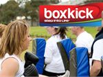 Step into Life Niddrie Outdoor Fitness Outdoor Boxkick combines Essendon