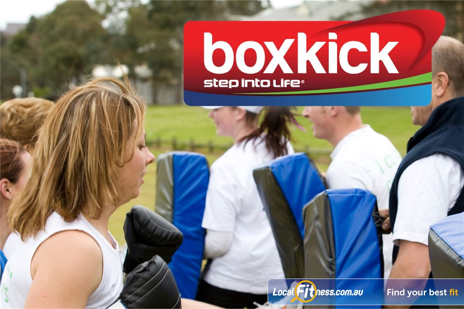 Step into Life Near Niddrie Boxkick combines Essendon boxing, kicking and self defense techniques.