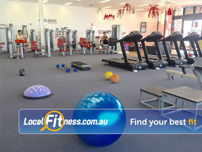Jetts Gym Success  | The spacious Success gym environment.