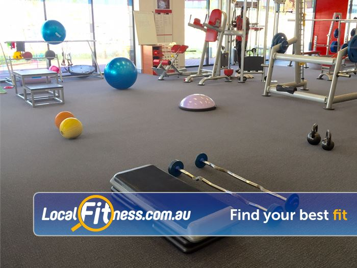 Jetts Fitness Near Wattleup Fitballs, medicine balls, bosu balls and more.