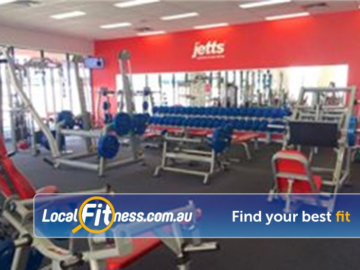 Jetts Fitness Success Free-weights, pin-loading machines, plate-loading machines and more.