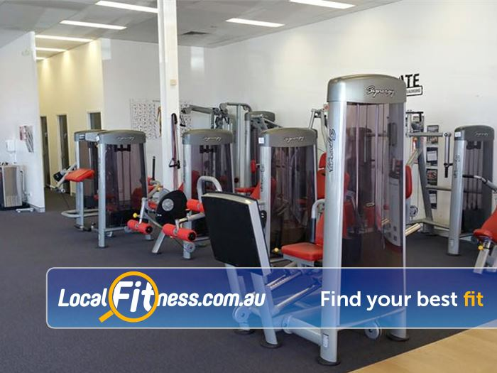 Jetts Fitness Success Get a full body workout at our Success gym with our Synergy Range.