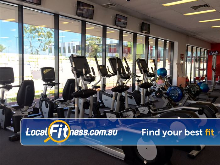 Jetts Fitness Success Vary your workout with cross-trainers, rowers, cycle bikes and more.