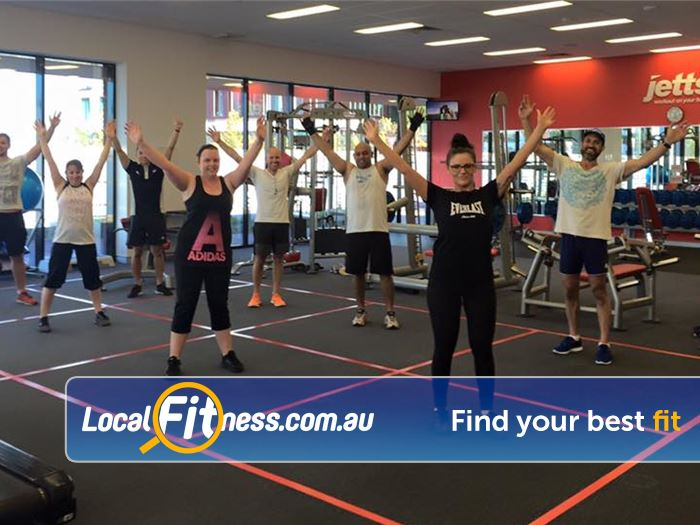 Jetts Fitness Success Join a great atmosphere with Success group fitness classes.