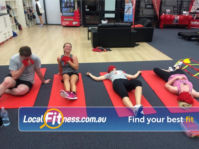 Jetts Fitness Success A great way to meet people and share goals and results with group training.