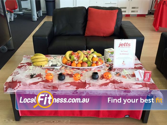 Jetts Fitness Success Fresh Fruit Friday in our members lounge at Jetts Success.