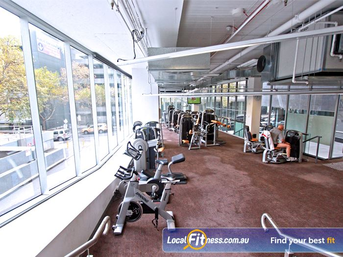 South Pacific Health Clubs Gym Albert Park  | State of the art equipment from Technogym.