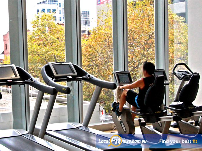 South Pacific Health Clubs Melbourne Gym Fitness The open plan cardio area