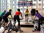 South Pacific Health Clubs South Melbourne Gym Fitness The dedicated spin cycle studio