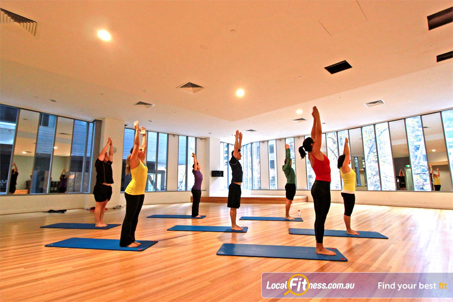 South Pacific Health Clubs Melbourne Enjoy popular Melbourne Yoga and Pilates classes.