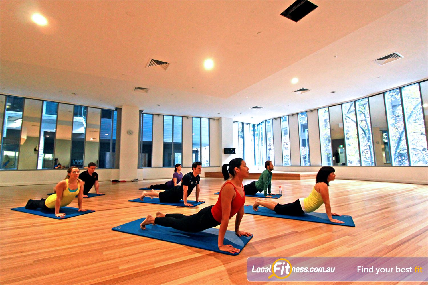 South Pacific Health Clubs Near Southbank Classes led by professional and experienced instructors.