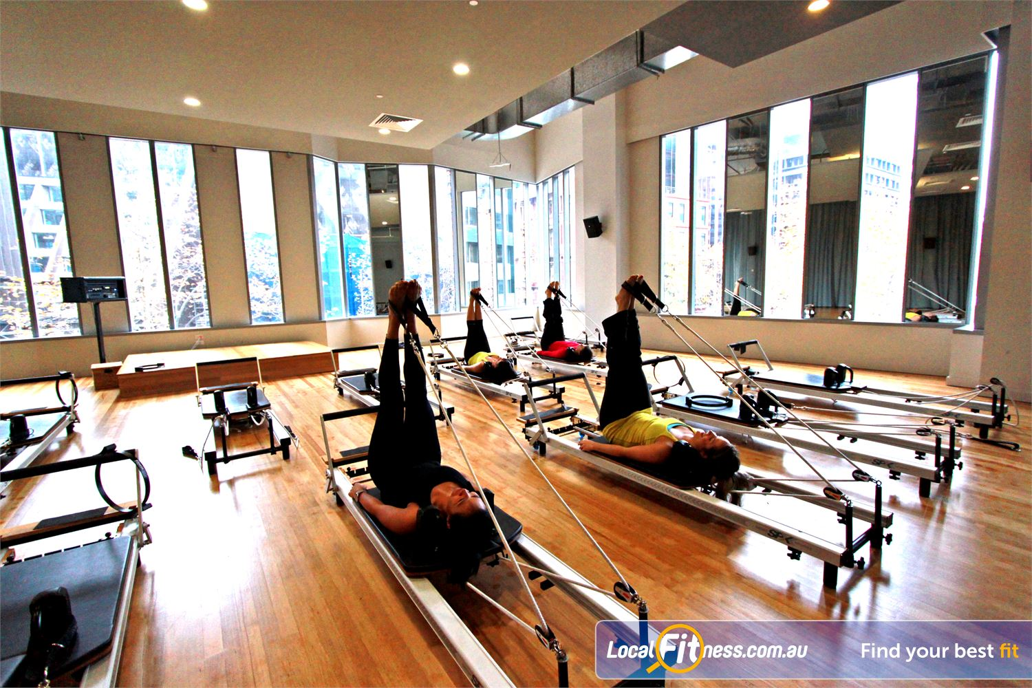 South Pacific Health Clubs Melbourne Led by fully qualified and highly experienced Melbourne Pilates instructors.