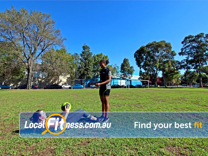 North Melbourne Community Centre Gym Fitzroy  | The beautiful outdoor environment at the North Melbourne