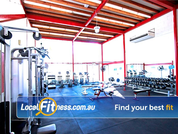 North Melbourne Community Centre Gym Maidstone  | A fully equipped North Melbourne gym with a