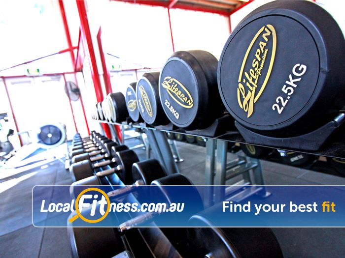 North Melbourne Community Centre North Melbourne Gym Fitness Dumbbells for all ages and
