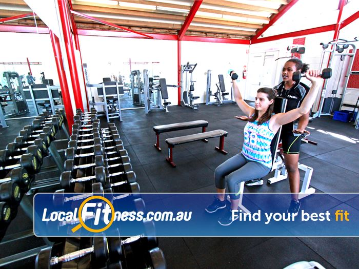 North Melbourne Community Centre Carlton North Gym Fitness Our free-weights area in our