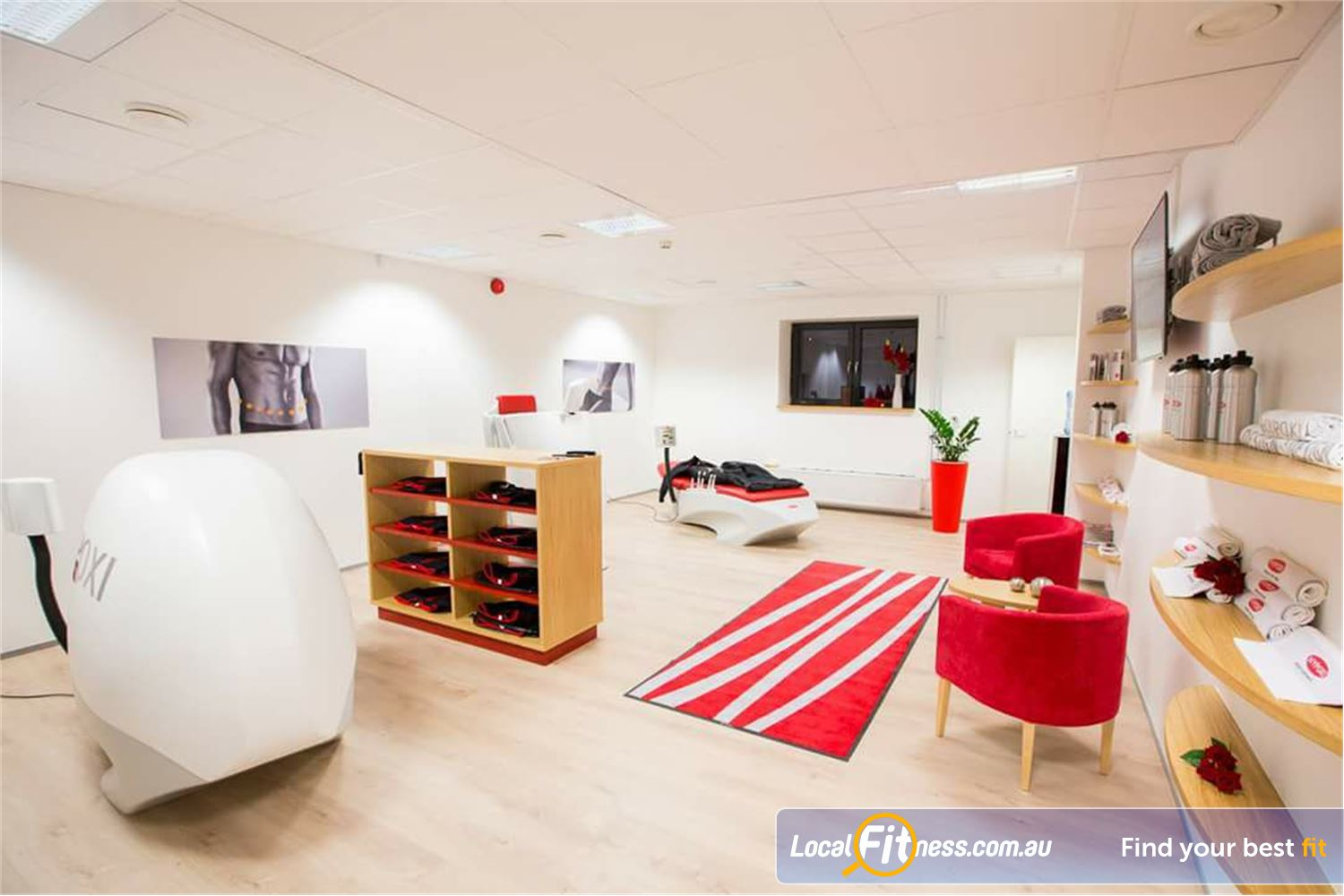 HYPOXI Weight Loss Port Melbourne State of the art weight-loss machines at HYPOXI Port Melbourne.
