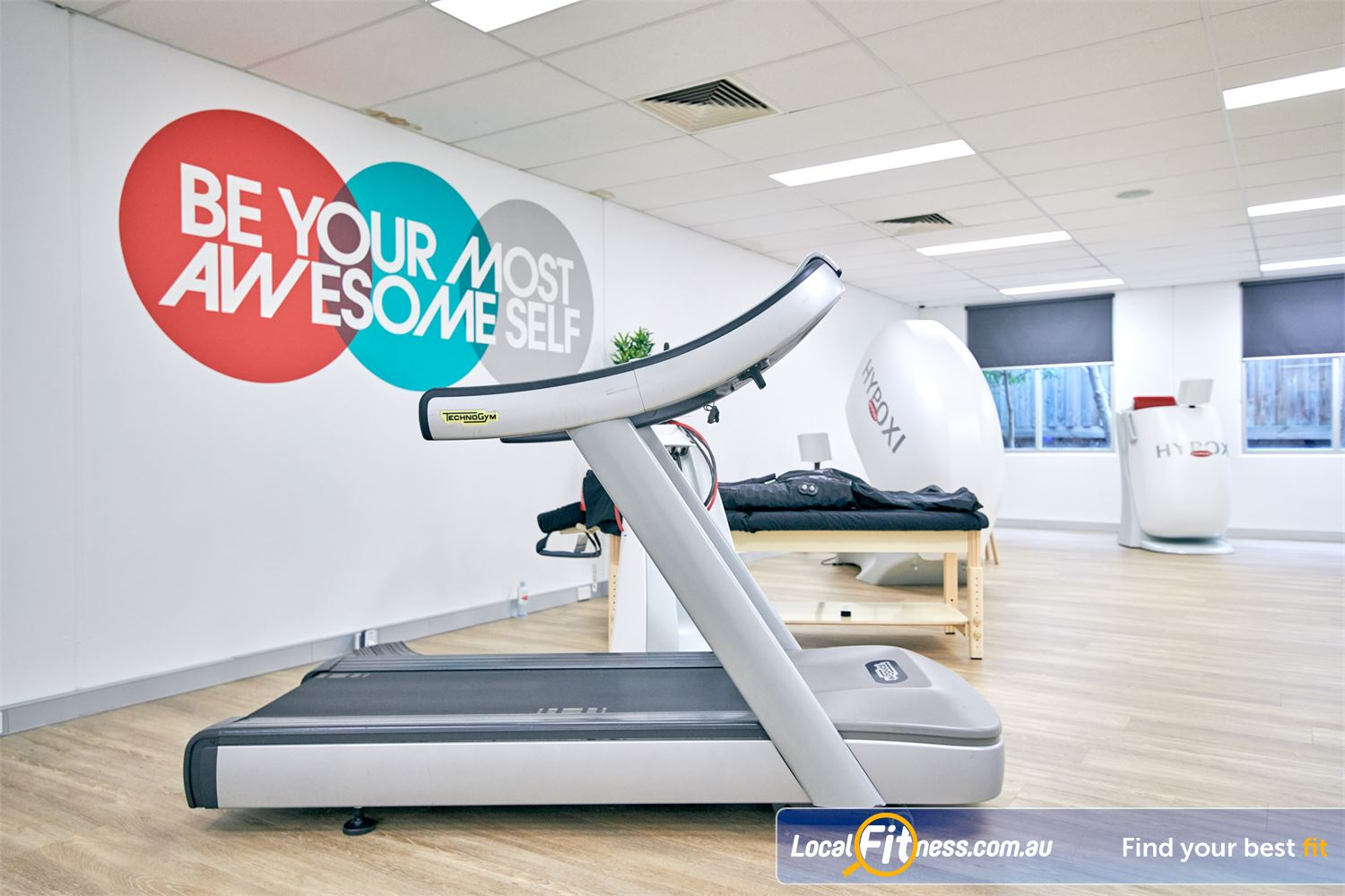 HYPOXI Weight Loss Near Richmond North The Vacunaut technology targets stubborn fat around the stomach and hips.
