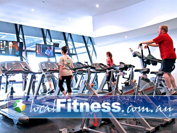 Total Body Conditioning Gym Waterloo Perfect views of the designer gym, and the Moore Park Entertainment Quarters.