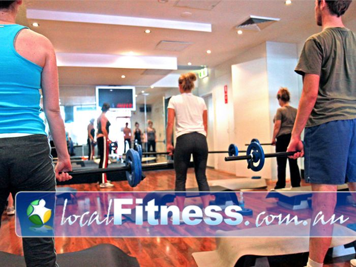 Total Body Conditioning Gym Near Rosebery Lunch classes are popular with the corporate crowd around Moore Park.