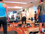 Total Body Conditioning Gym Rosebery Gym Fitness Lunch classes are popular with