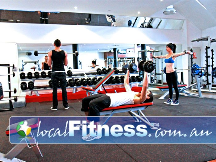 Total Body Conditioning Gym Near Zetland A wide selection of free-weights in our Waterloo gym.