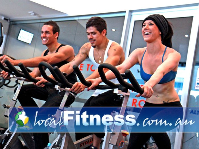 Total Body Conditioning Gym Waterloo Have fun and burn fat at the same time with our exciting spin cycle classes.