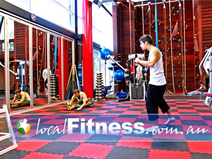 Total Body Conditioning Gym Near Zetland Elegantly designed floor space to stretch or shadow box.