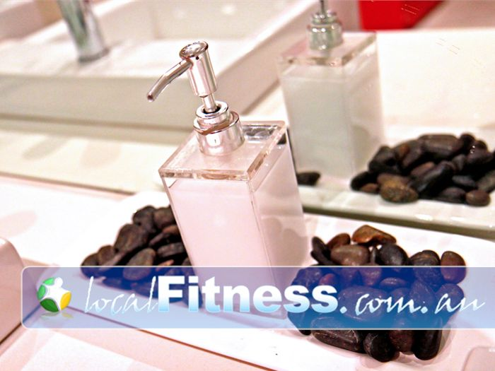 Total Body Conditioning Gym Waterloo Designer bathrooms with world class amenities.