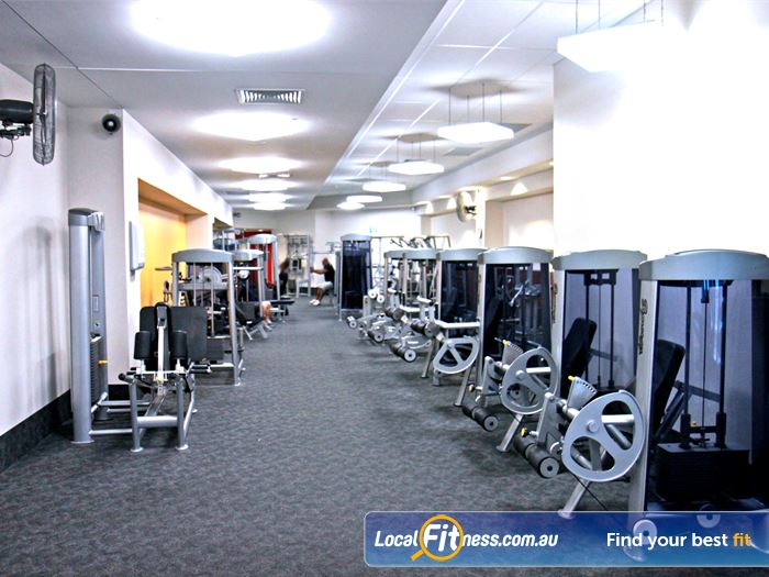 Goodlife Health Clubs Gym Meadowbank  | Goodlife Parramatta gym is one of the biggest