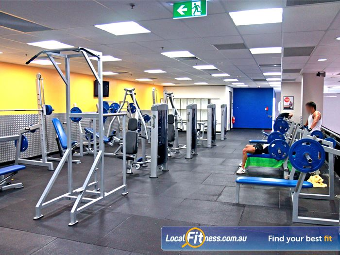 Goodlife Health Clubs Gym Bella Vista  | Enjoy the Parramatta gym range of heavy duty