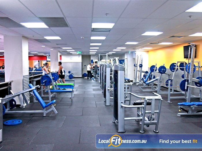 Goodlife Health Clubs Gym Meadowbank  | Our spacious Paramatta gym includes 5 separate weight