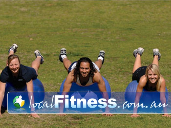 Step into Life Laverton North Outdoor Fitness Outdoor Ditch the gym and train