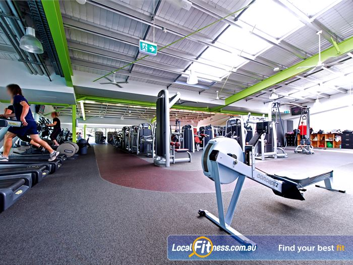 Annette Kellerman Aquatic Centre Gym Burwood  | The Marrickville gym was opened on the 26th
