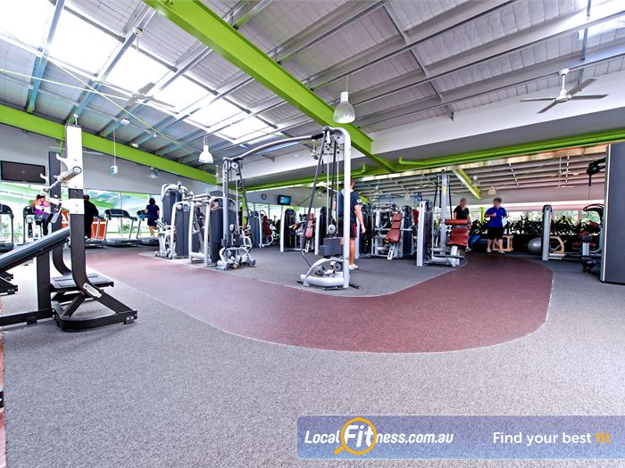 Annette Kellerman Aquatic Centre Gym Beverly Hills    State of the art equipment from Technogym.