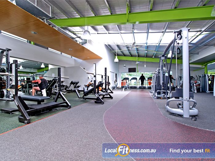 Annette Kellerman Aquatic Centre Gym Burwood  | The Marrickville gym provides a fully equipped free-weights