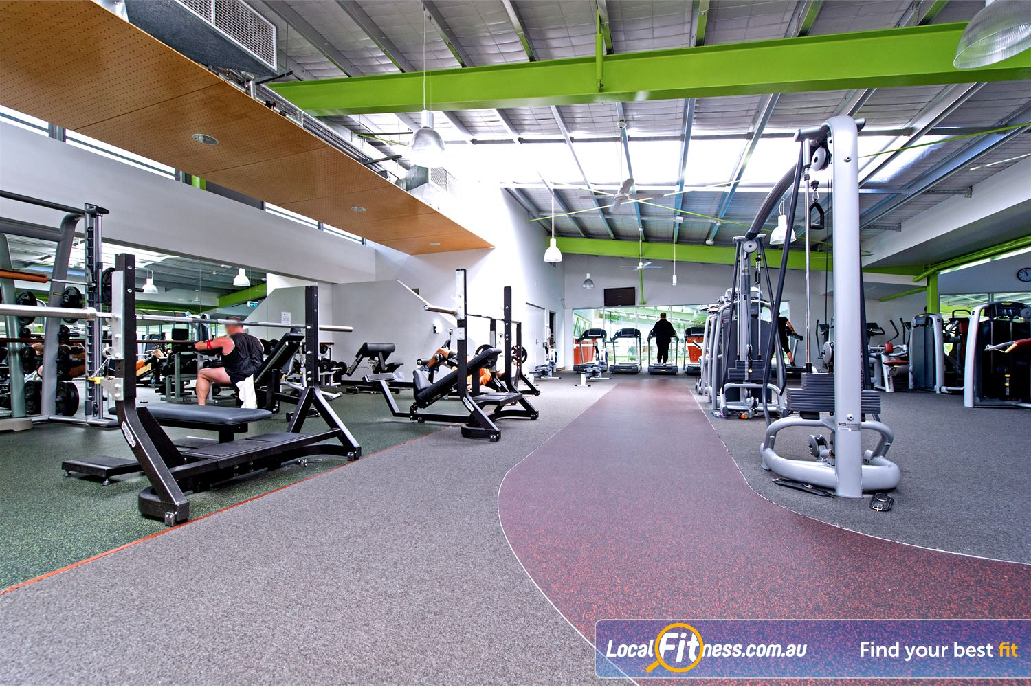 Annette Kellerman Aquatic Centre Near Turrella The Marrickville gym provides a fully equipped free-weights area.