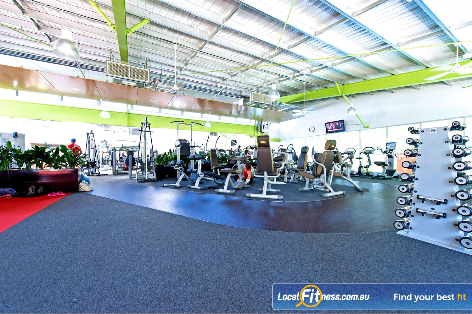 Annette Kellerman Aquatic Centre Near Wolli Creek The Marrickville gymprovides a spacious and relaxing environment.