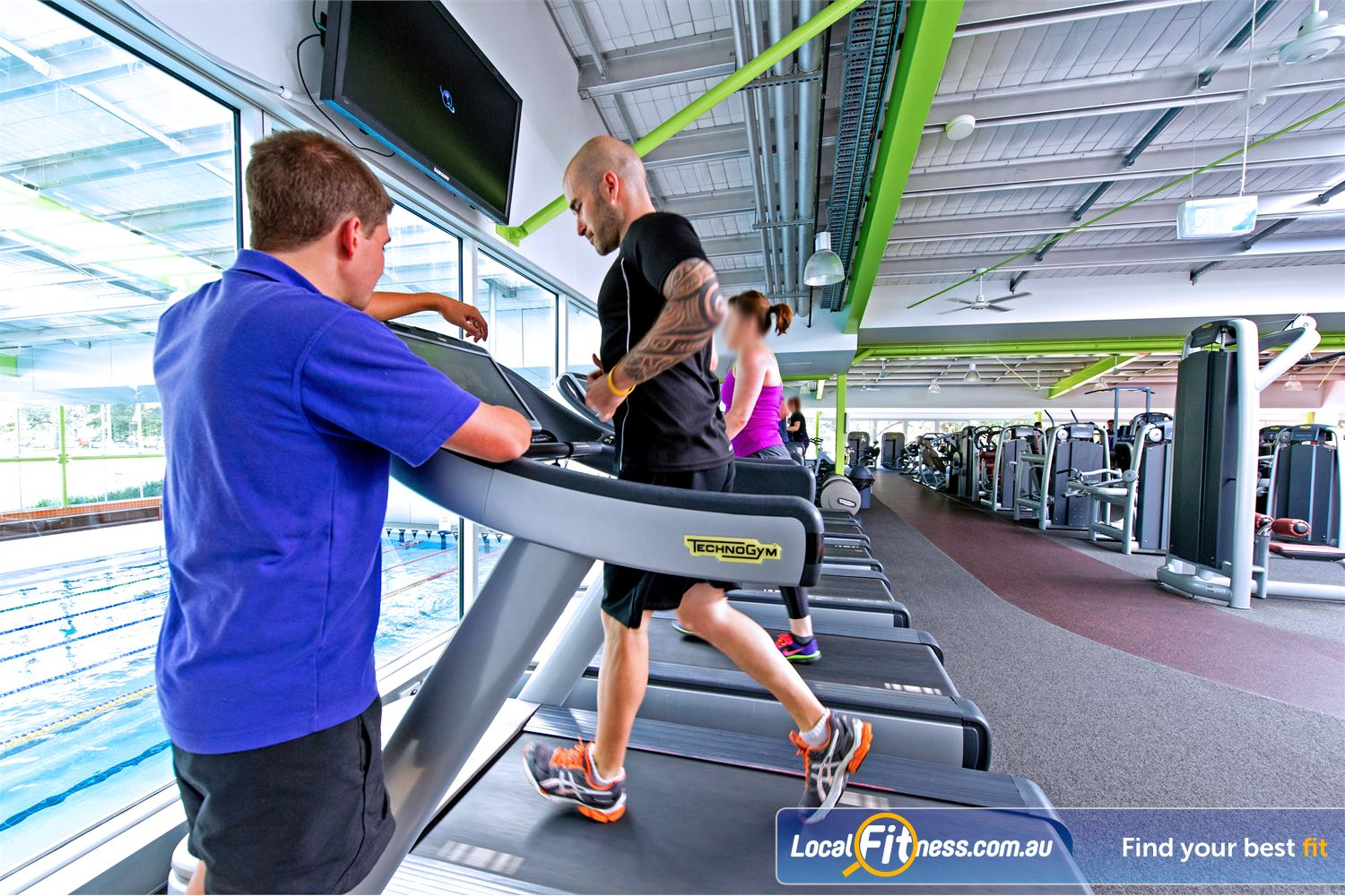 Annette Kellerman Aquatic Centre Marrickville Get the right advice about cardio and weight-loss training.