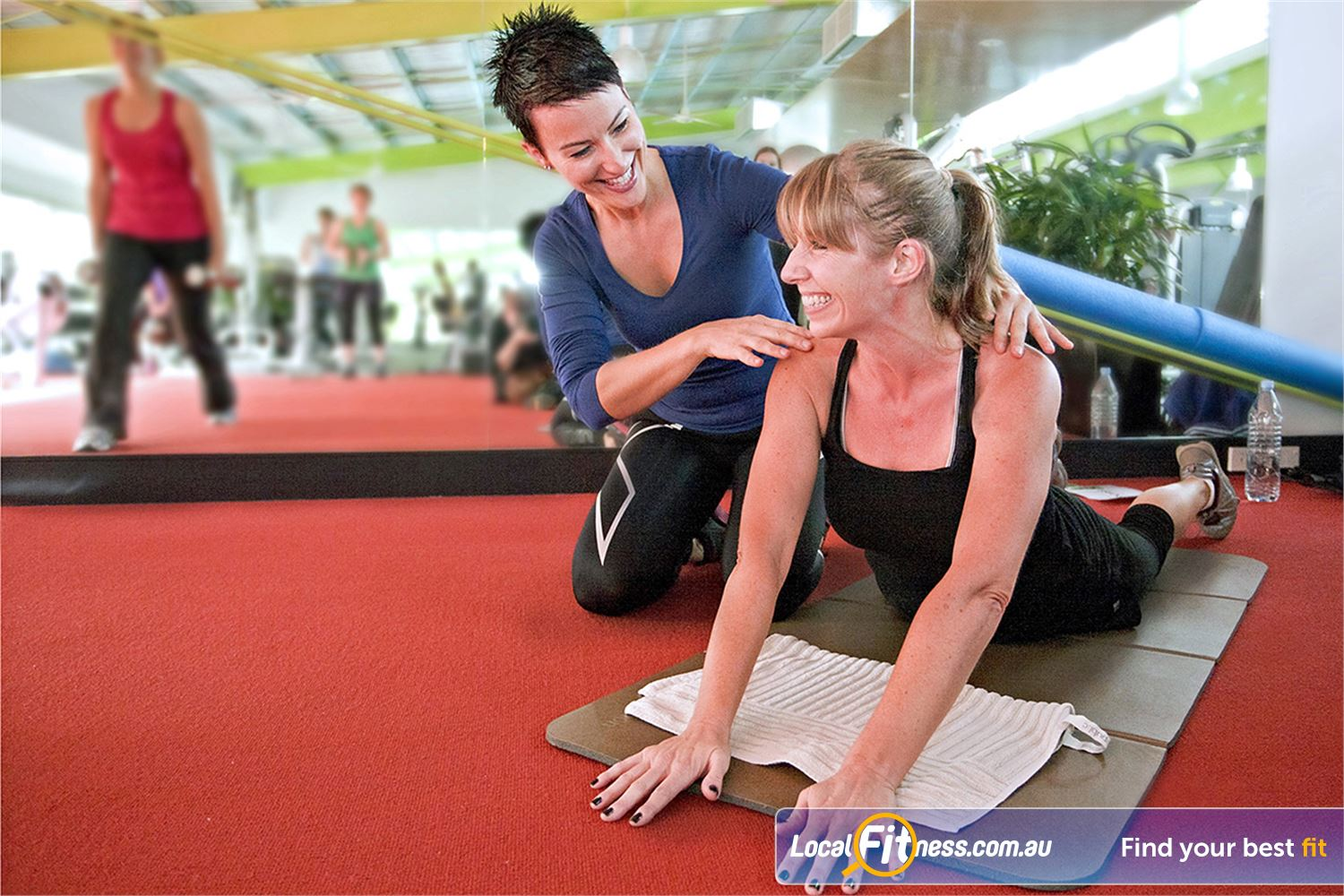 Annette Kellerman Aquatic Centre Near Wolli Creek Fully equipped with mats, fitballs, medicine balls and more.