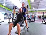 Annette Kellerman Aquatic Centre Marrickville Gym Fitness Benches, barbells, dumbbells,