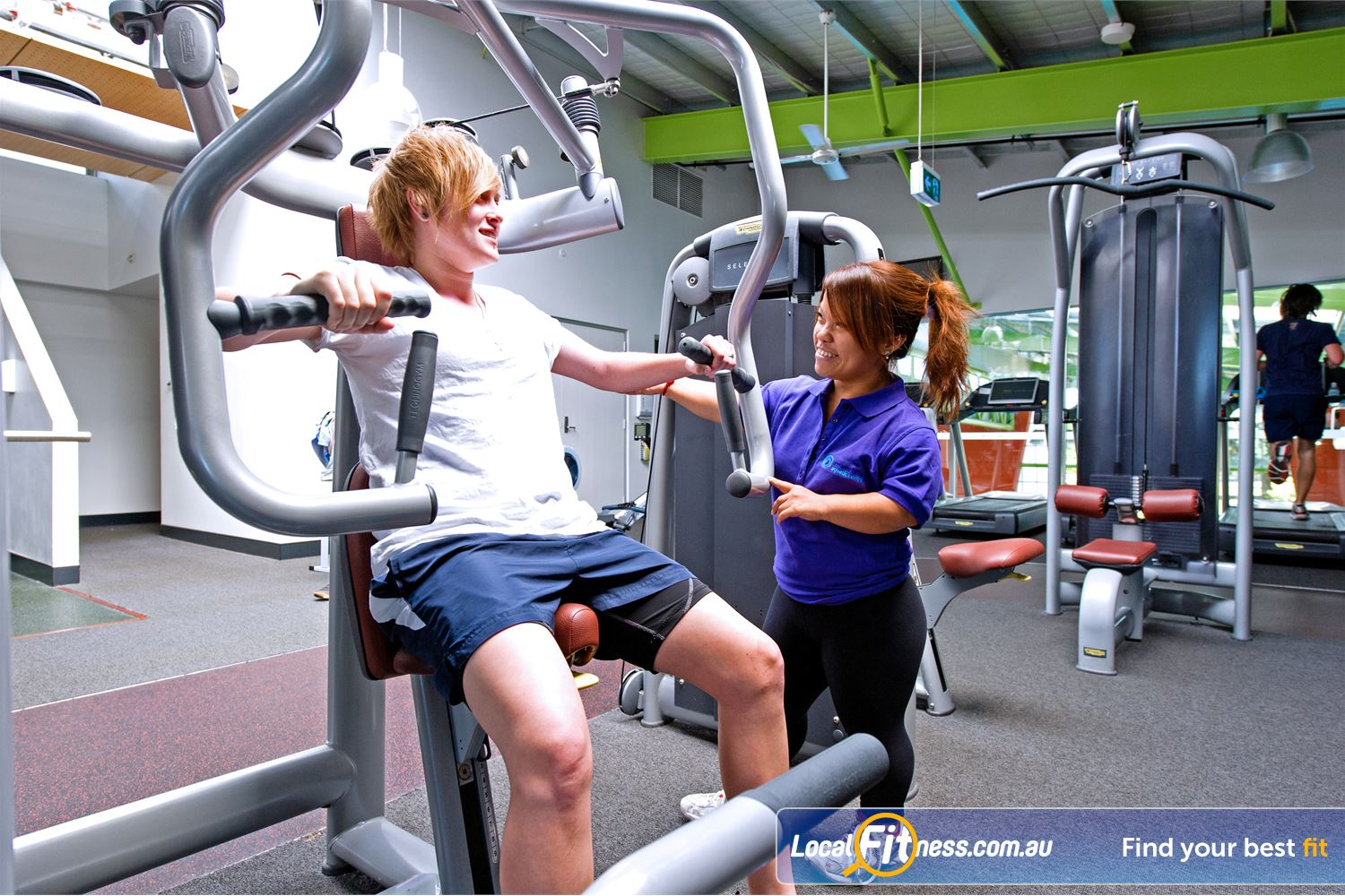 Annette Kellerman Aquatic Centre Marrickville Marrickville gym instructors can tailor a program to suit your goals.