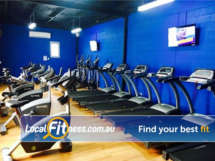 Plus Fitness 24/7 Carlingford Gym Meadowbank  | Our Beecroft gym provides a comprehensive cardio setup.