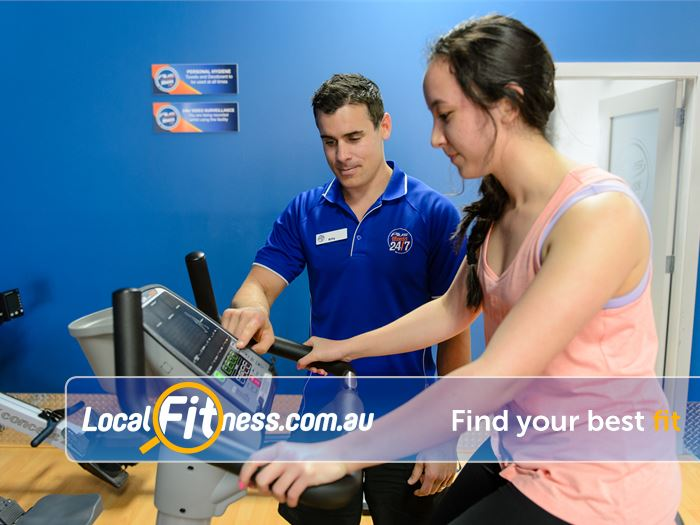 Plus Fitness 24/7 Carlingford Gym North Ryde  | Plus Fitness Carlingford gym staff will help you
